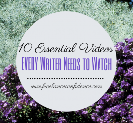 10 Essential Videos EVERY Writer Needs to Watch